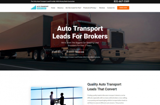 Auto Transport Leads For Brokers